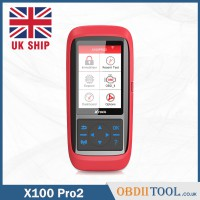 [UK SHIP] Xtool X100 Pro2 Auto Key Programmer Immobilizer Mileage Correction Tool
