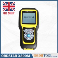 [UK SHIP] OBDSTAR X300M OBDii Mileage Programmer Newly Adds Benz V-A-G MQB