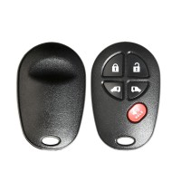 XHORSE XKTO08EN Wire Remote Key 5 Buttons for VVDI Key Tool English Version 10pcs/lot