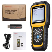 OBDSTAR X300M Special for Odometer Adjustment and OBDII VIP Price For Mr.Andrey