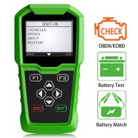OBDSTAR BMT-08 12V 24V OBD2 Auto Battery Analyzer For 100-2000 CCA 220AH