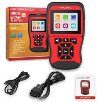 KOLSOL KS501 OBDII & EOBD Scan Tool for Universal Vehicles Automotive Scanner Diagnostic Tool