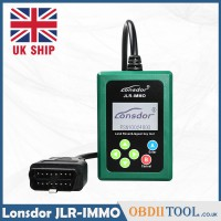[UK SHIP] Lonsdor JLR IMMO JLR Doctor Key Programmer by OBD Newly Add KVM and BCM for Jaguar/LandRover Key Programmer
