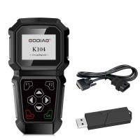 GODIAG K104 TOYOTA Hand-held key Programming Support Replace Engine ECU And All Key Lost