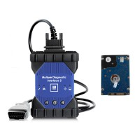 Wifi Version GM MDI 2 Multiple Diagnostic Interface With V2020.9 GDS2 Tech2 Win Software Sata HDD