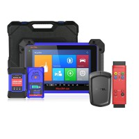 100% Original Autel MaxiIM IM608 Diagnose Scanner + Free APB112 Smart Key Simulator + G-BOX2 Adapter