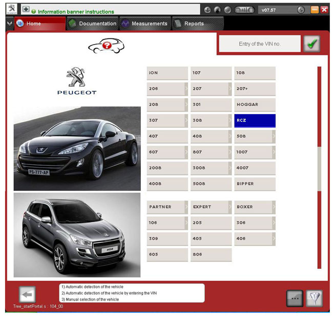diagbox V7.57 for pp2000 lexia citroen peugeot