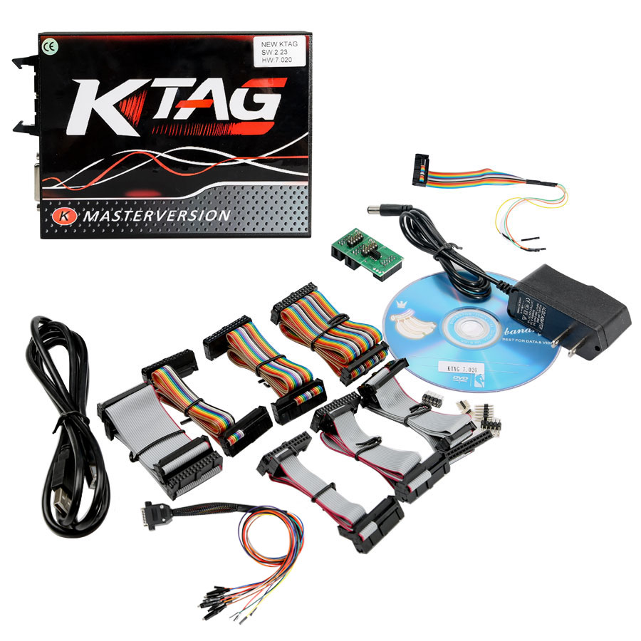 KTAG 7.020 packing list