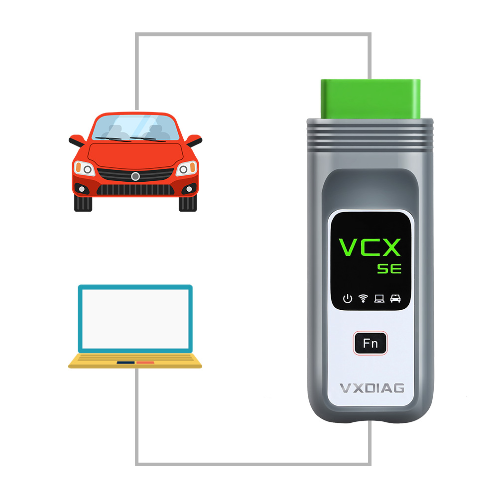 How to connect VXDIAG BMW Diagnostic Scanner