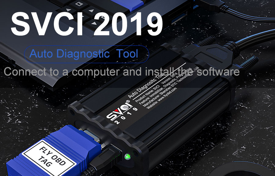 How to Connect SVCI 2019 with Laptop and Vehicle