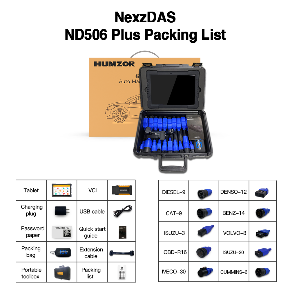 humzor-nexzdas-nd506-plus-package